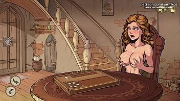 Девушка безудержно кончает от секса с секс-машиной